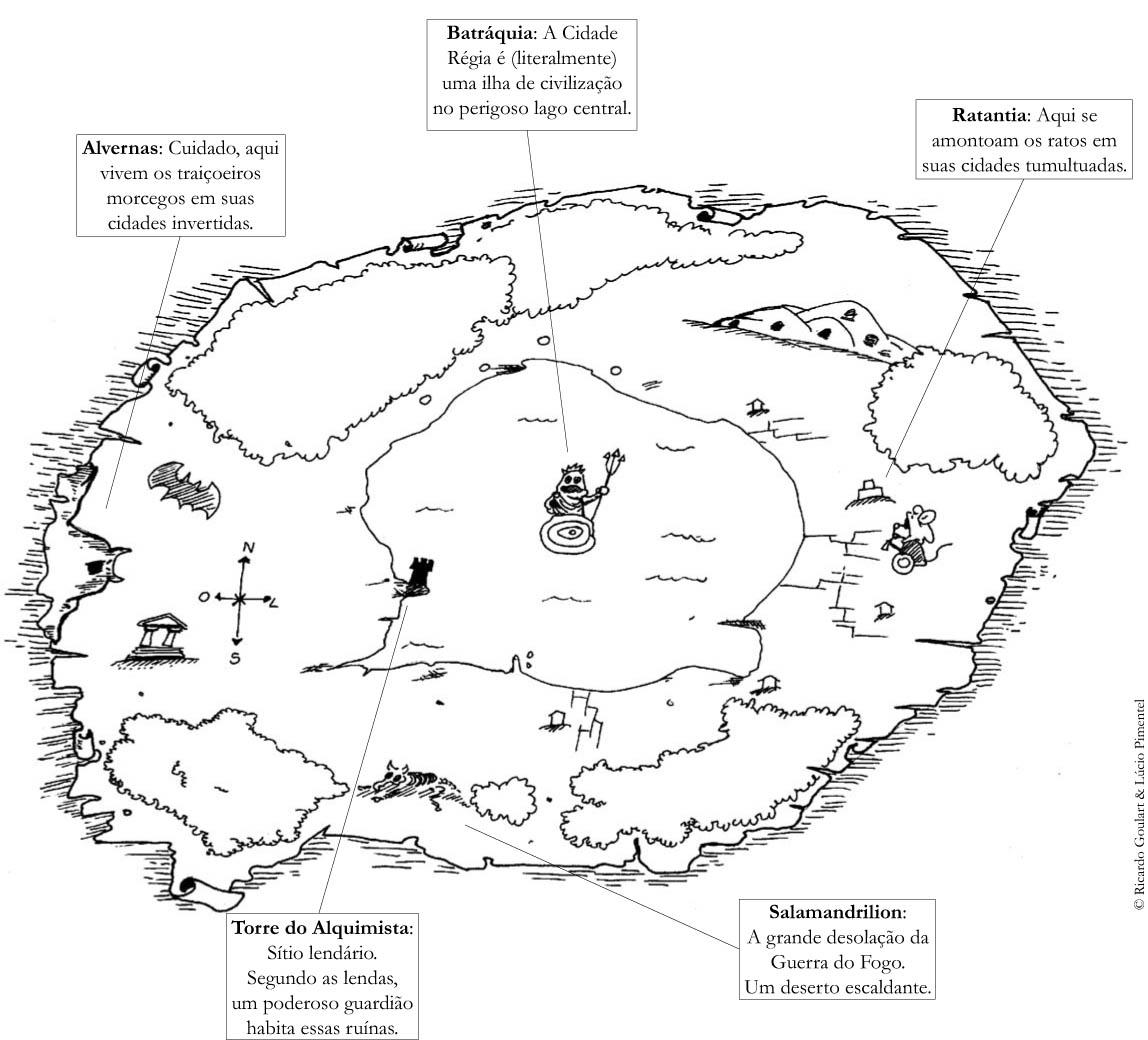 Mapa de Ratantia
