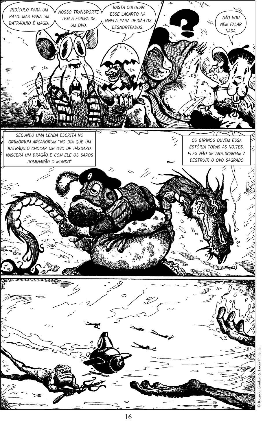 Sapos & Dragões