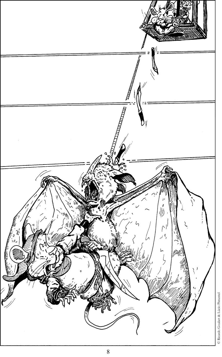 Faca voadora